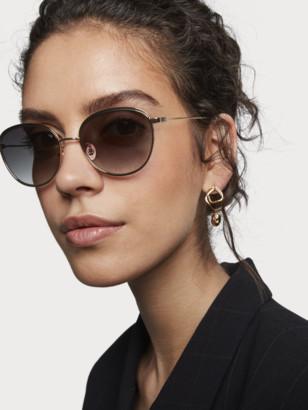 Scotch & Soda Metal Round-Frame Sunglasses Keoni | Women