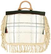 Forte Forte fringed tote bag - women - Cotton - One Size
