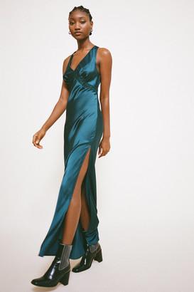 Lioness Dakota Satin Maxi Dress