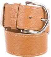 Prada Vitello Leather Belt