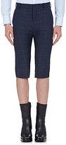 Balenciaga Men's Wool Glen Plaid Shorts