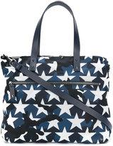 Valentino Garavani Valentino camouflage star print tote - men - Leather/Acrylic/Polyimide - One Size