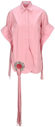 J.W.Anderson Eyelet Embellished Shirt