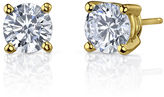 JCPenney FINE JEWELRY Simulated Diamond, Diamonore Studs 2 CT. T.W. 14K