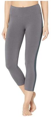 Hard Tail High-Waist Racer Leggings (Earl Grey) Women's Casual Pants