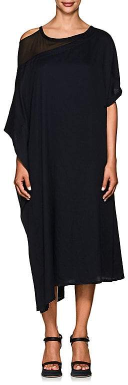 Yohji Yamamoto Women's Cotton Asymmetric Dress