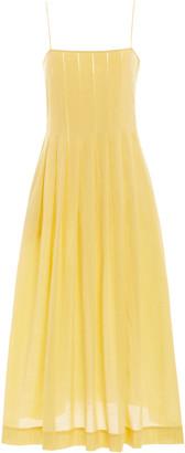 Three Graces London Lucia Cotton Maxi Dress