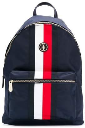 Tommy Hilfiger signature stripe panel backpack