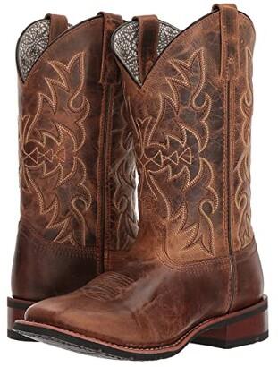 Laredo Meg (Tan) Cowboy Boots