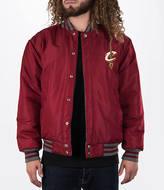 J H DESIGN GROUP Men's JH Design Cleveland Cavaliers NBA Reversible Wool Jacket
