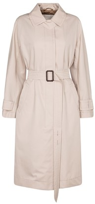 Max Mara Aimper cotton gabardine trench coat