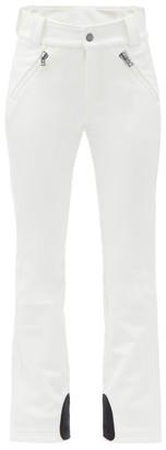 Bogner Haze High-rise Soft-shell Boot-leg Ski Trousers - White