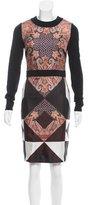 Givenchy Printed Silk Dress