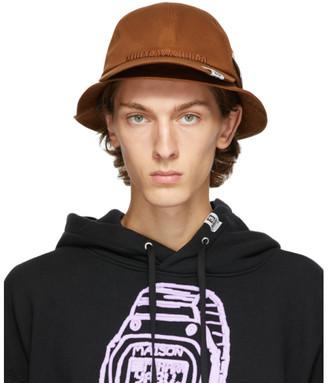 Miharayasuhiro Brown Cap Bucket Hat