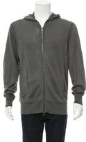 John Varvatos Knit Zip-Up Hoodie