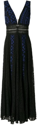 Martha Medeiros Anelise Poa evening dress