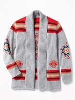 Old Navy Shawl-Collar Open-Front Cardi for Girls