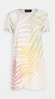 MinkPink Palm Sprigs Tee Dress