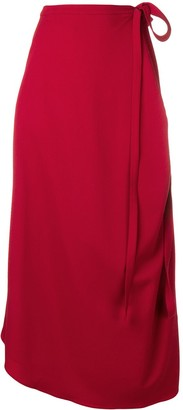 Y/Project High Waisted Wrap Around Skirt