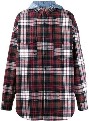 Juun.J Plaid Shirt