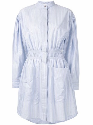 Cédric Charlier Striped Shirt Dress