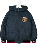 Dolce & Gabbana printed hooded jacket
