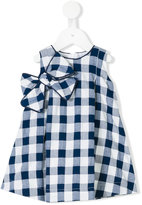 La Stupenderia checked dress - kids - Cotton/Polyamide - 6 mth