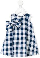 La Stupenderia checked dress - kids - Cotton/Polyamide - 6 mth
