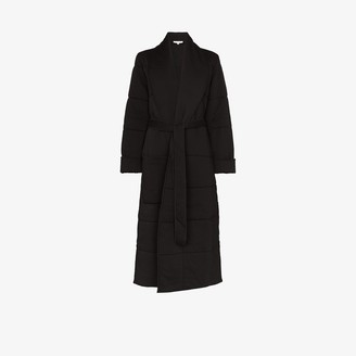 Skin Sierra quilted cotton robe