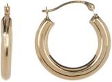 Candela 14K Gold 30mm Polished Hoop Earrings