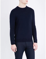 Armani Jeans Crewneck Knitted Jumper