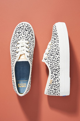 Keds Spotted Platform Sneakers By in Black Size 6