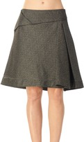 Max Studio Skirt With Origami Detail