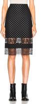 Givenchy Star Jacquard Skirt