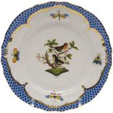 Herend Rothschild Bird Blue Motif 3 Bread & Butter Plate