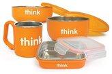 Thinkbaby HG1230259 Feeding Set BPA Free, Orange