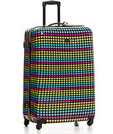 "Betsey Johnson 32"" Rainbow Hearts Upright Spinner"