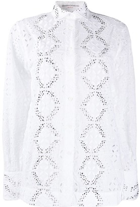 Ermanno Scervino Broderie Anglaise Shirt