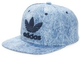 adidas Men's 'Trefoil Plus' Snapback Cap - Blue