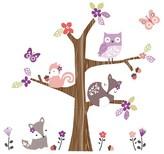 Bedtime Originals Wall Appliques - Lavender Woods