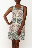 Entro Floral Sleeveless Dress