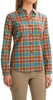 Royal Robbins Cottonwood Plaid Shirt - Long Sleeve (For Women)