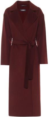 S Max Mara Elena belted virgin-wool coat