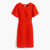 J.Crew Flutter-sleeve dress in eyelet
