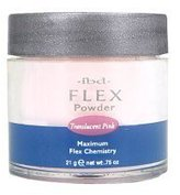 IBD Flex 71825 Translucent Powder, Pink, 0.75 Ounce by