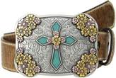 Ariat Vintage Stap with Cross Buckle Belt Women's Belts