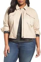 Sejour Crop Utility Jacket (Plus Size)