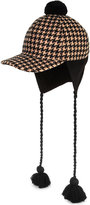 Gucci Houndstooth Wool Hat
