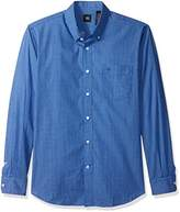 Dockers Long Sleeve No Wrinkle Signature Check Shirt