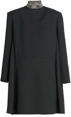 Chloé Double Face Crepe Shift Dress